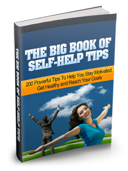 The Big Book of Self Help Tips – FREE!