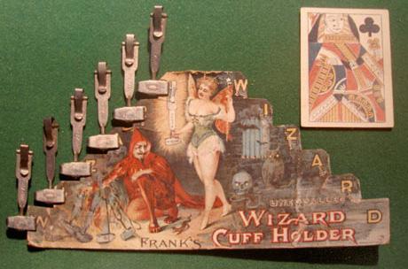 Wizard Cuff Holder 1889