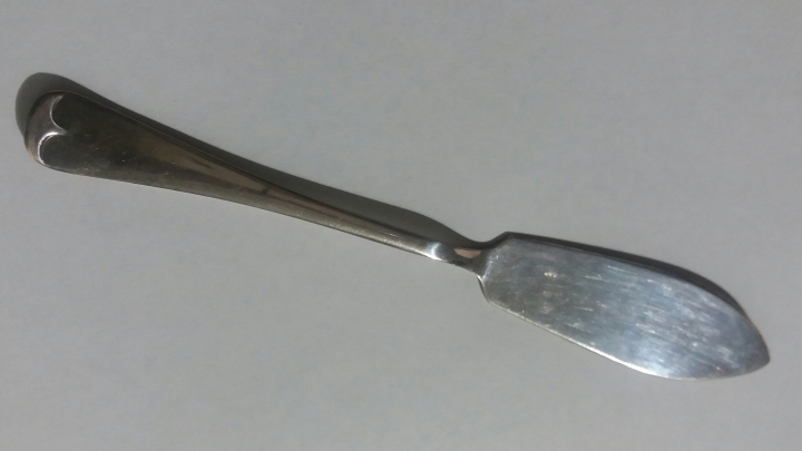 Antique 1920s JBC&S Ltd EPNS Dessert/Cake Knife – JB Chatterley & Sons Ltd, Birmingham England – 1880-1936
