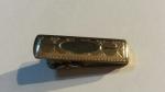 Vintage 1930s Art Deco HAYWARD Goldtone Cravat Clip Tie Clasp