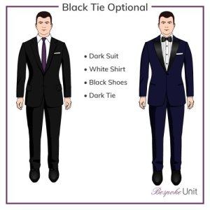 Dress Codes for Men - Black Tie Optional