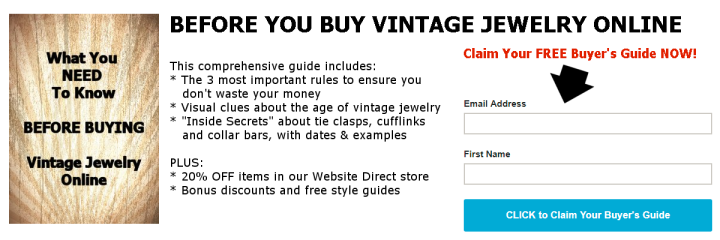 Buying Vintage Jewelry Online
