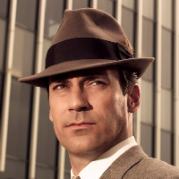 Wearing Hats - Trilby Hat Don Draper