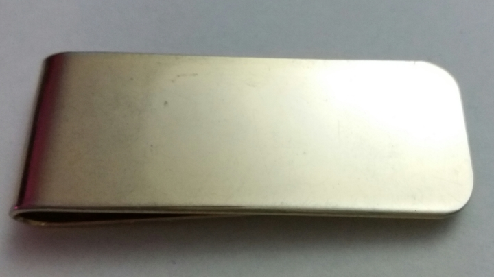 Vintage Money Clip 1970s - Gloss, Modest Style