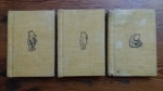 BAM198 WINNIE THE POOH 3x Hard Cover Mini Books RARE 1968 COLLECTABLE